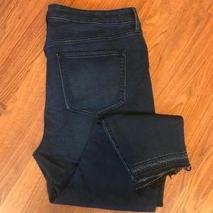 Old Navy   Rockstar skinny dark wash jeans